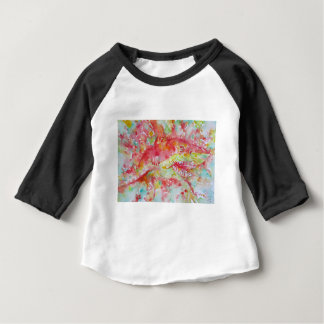watercolor SHARK Baby T-Shirt