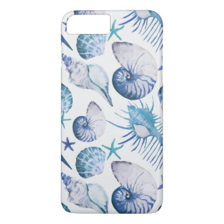 Watercolor Shells iPhone 8 Plus/7 Plus Case