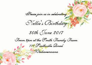 simple 50th birthday invitations announcements zazzle uk