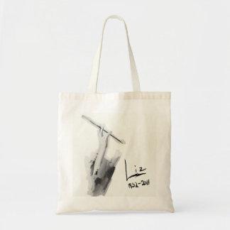 WaterColor Smoking Liz 1932-2011 Budget Tote Bag