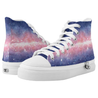 Watercolor Space sneakers