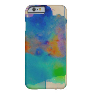 Watercolor Splash Barely There iPhone 6 Case