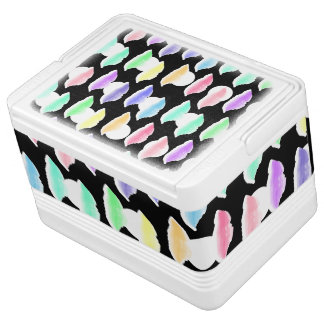 Watercolor Splash! Igloo Cooler