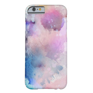 Watercolor Splash Paint phone case Barely There iPhone 6 Case