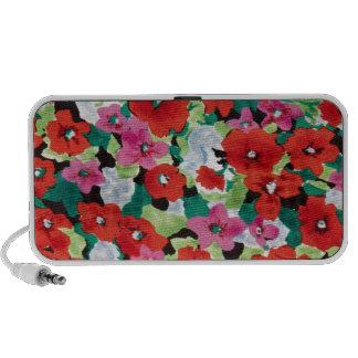Watercolor Springtime Poppies Speakers