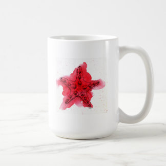 Watercolor Starfish Coffee Mug