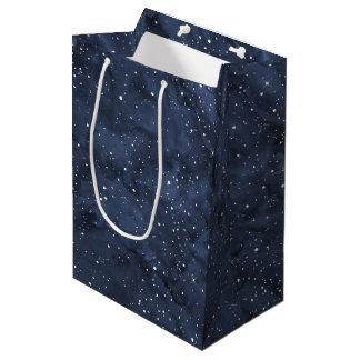 Watercolor Starry Skies Medium Gift Bag
