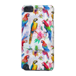 Watercolor Style Parrots iPod Touch 5G Covers