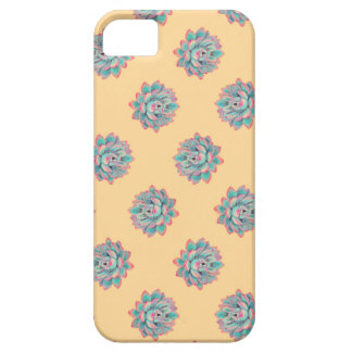 Watercolor Succulent Pattern iPhone 5 Cover