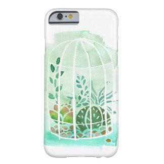 Watercolor Succulent Terrarium iphone 6/6s Case