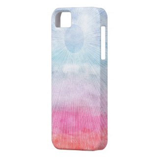 Watercolor Sun Barely There iPhone 5 Case