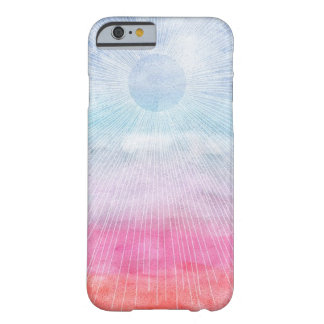 Watercolor Sun Barely There iPhone 6 Case