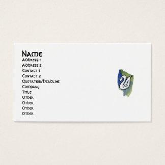 WATERCOLOR SWAN profile card