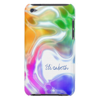 Watercolor Swirls  iPod Touch 4G Barely There Case Case-Mate iPod Touch Case