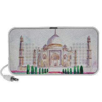 Watercolor Taj Mahal Speakers