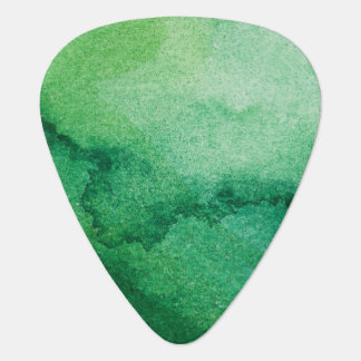 Watercolor texture guitar pick