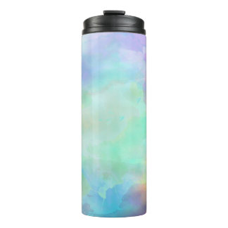 Watercolor Thermal Tumbler