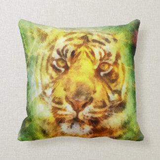 Watercolor Tiger Cushions