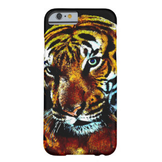 Watercolor Tiger Picture iPhone 6 Case Barely There iPhone 6 Case