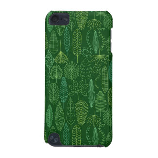 Watercolor Tropical Leaves iPod Touch (5th Generation) Cases