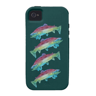 Watercolor Trout iPhone 4/4S Covers