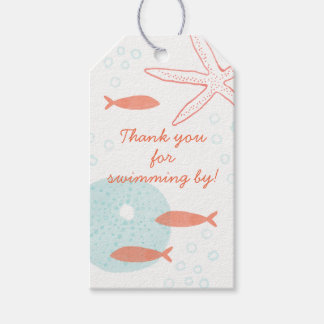 Watercolor Underwater Gift Tag