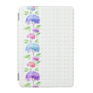 Watercolor vertical seamless pattern border iPad mini cover
