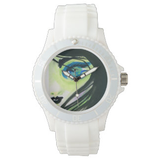 Watercolor Water Spirit Watch