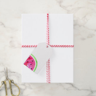 Watercolor Watermelon Gift Tags