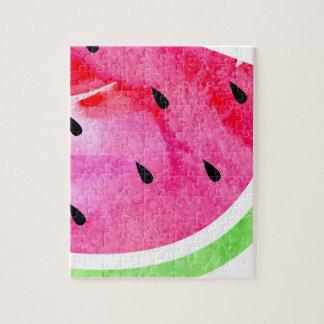 Watercolor Watermelon Puzzle