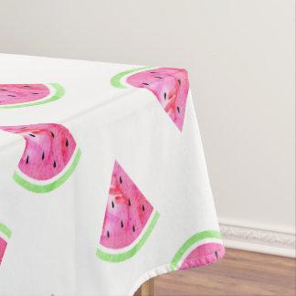 Watercolor Watermelon Tablecloth
