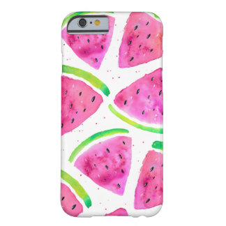 Watercolor Watermelons Barely There iPhone 6 Case