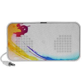 Watercolor Wave Speakers