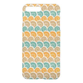 Watercolor Waves Pattern iPhone 8 Plus/7 Plus Case