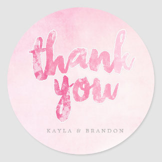 Watercolor - Wedding Stickers - Pink | WEDDINGS