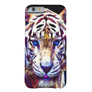 Watercolor White tiger iPhone 6 Case Barely There iPhone 6 Case