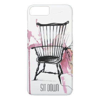 Watercolor Windsor Chair Phone Case