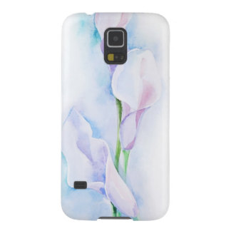 watercolor with 3 callas case for galaxy s5