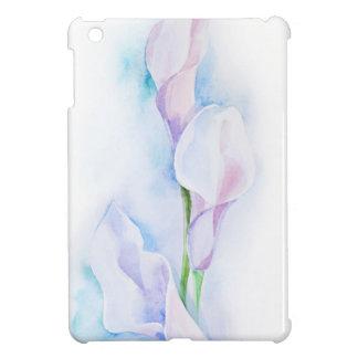 watercolor with 3 callas cover for the iPad mini