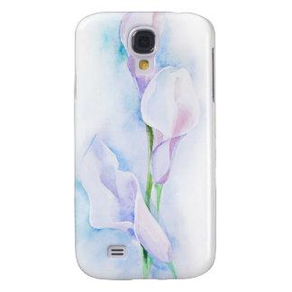 watercolor with 3 callas galaxy s4 case