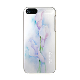 watercolor with 3 callas incipio feather® shine iPhone 5 case