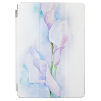 watercolor with 3 callas iPad air cover