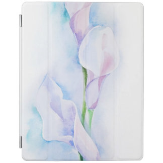 watercolor with 3 callas iPad cover