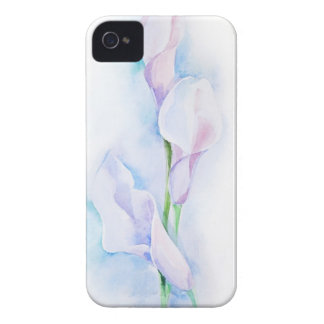 watercolor with 3 callas iPhone 4 covers