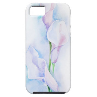 watercolor with 3 callas iPhone 5 covers