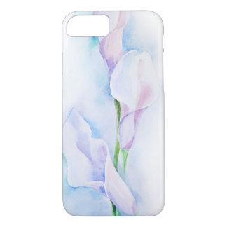watercolor with 3 callas iPhone 7 case