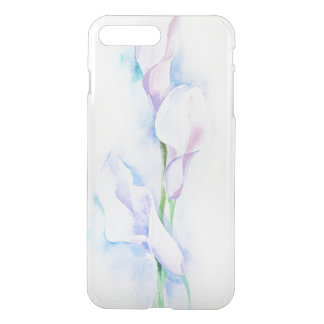 watercolor with 3 callas iPhone 8 plus/7 plus case
