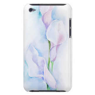 watercolor with 3 callas iPod touch covers