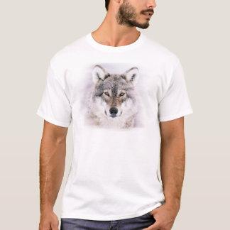 Watercolor Wolf Mens T-Shirt