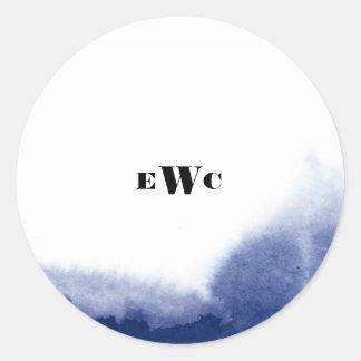 Watercolor Wonderland Sticker Round